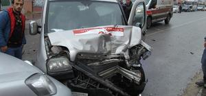 Çerkezköy'de trafik kazası: 3 yaralı