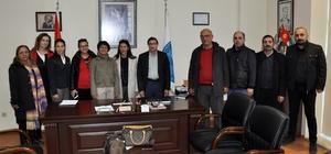 TÜRSAB Didim BYK'nın Yeni Yönetiminde Ticaret Odasına ziyaret