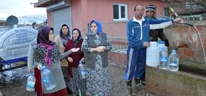 Köyde 10 gündür sular akmıyor