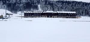 Topuk Yaylası Göleti buz tuttu