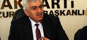 AK Parti İl Başkanı Öz'e coşkulu karşılama