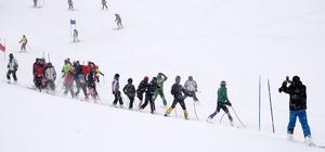 Bitlis'teki Alp Disiplini Yarışması