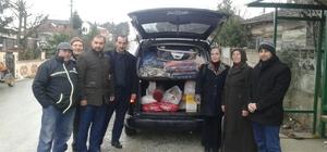 Kaynarca'dan Haleplilere yardım
