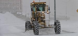 Edremit'te karla mücadele
