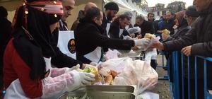Hamsi ve Kültür Festivali'nde 4 ton hamsi dağıtıldı