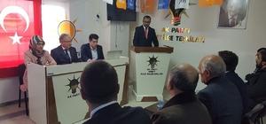 AK Parti Emet İlçe Başkanı Mehmet Yağcıklı: