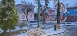 Selendi'ye ilk kar yağdı