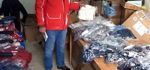 Kızılay'dan yoksul ailelere yardım