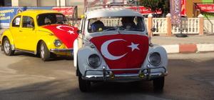 Burdur'da teröre sessiz tepki konvoyu