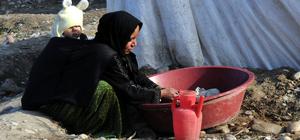 Sığındıkları Türkiye'de yaşama tutunmaya çalışıyorlar