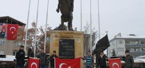 Kaman'da teröre karşı birlik yürüyüşü