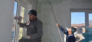 Seyitgazi Belediyesi muhtarlık binalarını yenilemeye devam ediyor