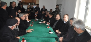 Vali Tutulmaz ve Aktay vatandaşlarla sohbet etti