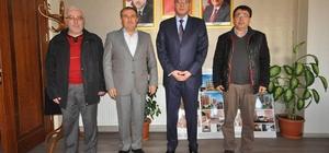 Başkan Avcu, Kaymakam Çağlar'ı ağırladı