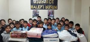 Akyazı'da Halepliler için yardım kampanyası