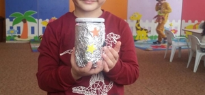Kululu minik öğrencilerden Halepli çocuklara yardım
