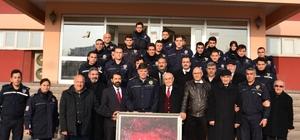 Çevik Kuvvet polisine moral ve destek ziyareti