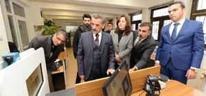 Tunceli Valisi, yeni kimlik kartı çalışmaları hakkında bilgi aldı