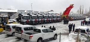 Erciş Belediyesi araç filosunu büyüttü