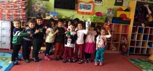 Kulu'da minik öğrencilerden Halep'e yardım kampanyasına destek