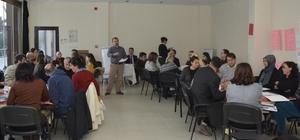 Proje hazırlama ve yürütme eğitimi gerçekleştirildi
