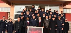 Ercişliler'den polise moral ziyareti