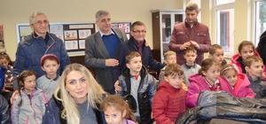 Trabzon'da öğrencilere yeni yıl hediyeleri Beylikdüzü Belediyesi'nden