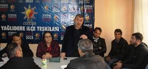 AK Parti Yağlıdere İlçe Danışma Toplantısı yapıldı