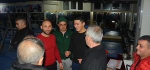 Başkan Acar, fitness salonunu ziyaret etti