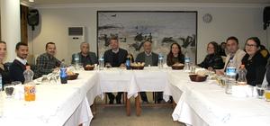 Silifke Belediye Başkanı Turgut, personeliyle yemekte buluştu