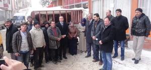 Doğanşehir'de genç çiftçilere destek