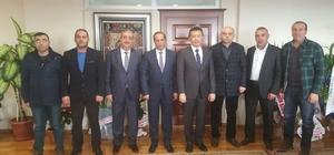 Başkan Toltar, Kaymakam Alkan'ı ziyaret etti