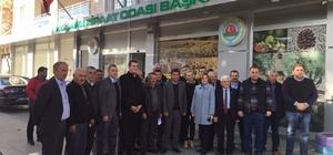 Aydın MHP Koçarlı'da üreticiyi ziyaret etti