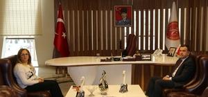 Mustafa Eldivan'dan Rektör Kılıç'a Veda Ziyareti