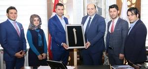 Başkan Orhan, AK gençleri ağırladı