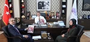 KYK'dan Başkan Aksoy'a ziyaret