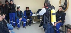 MASKİ personeline iş güvenliği eğitimi