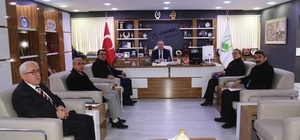 Karaalp'ten Başkan Şahiner'e ziyaret