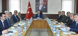İl Kaçakçılıkla Mücadele Koordinasyon Kurulu Toplantısı yapıldı