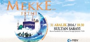 AGD'den Mekke'nin Fethi programına davet