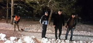 Aşkale Belediye Başkanı Polat, karla mücadele çalışmalarını denetledi