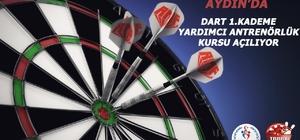 Aydın'da Dart 1. kademe yardımcı antrenörlük kursu açılıyor