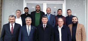 AK Parti İl Başkanı Yeni, STK'ları ziyaret ederek istek ve görüşlerini alıyor