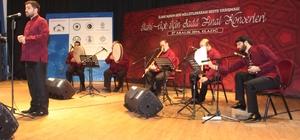 Elazığ'daki beste yarışmasında dereceye girenlere ödülleri verildi