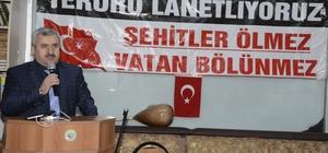 Başkan Baran, şehitleri anma programına katıldı