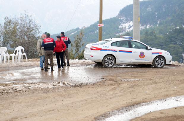 Antalya'da izinsiz kazıda altın bulunduğu iddiası