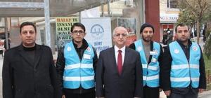Siirt'te Halep için yardım kampanyası sürüyor