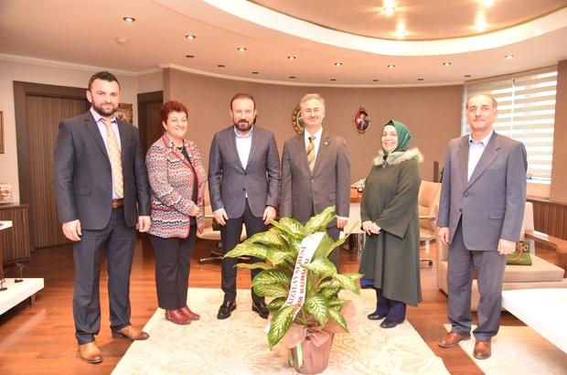 Başkan Doğan, Kocaeli Kızılay şubesini ağırladı