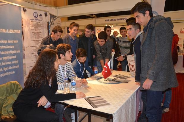 Bartın Üniversitesi Ankara'da üniversite tercih fuarına katıldı