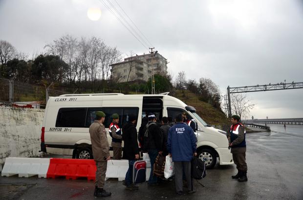 Zonguldak'ta 17 Afgan göçmen yakalandı